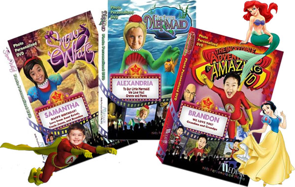 Personalized Kid's DVDs