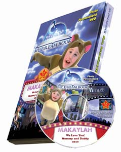 My Dream Book Personalized Children's Photo DVD