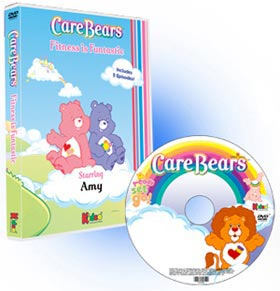 Care Bears Fitness Is Funtastic Personalized Children's Photo DVD