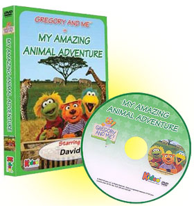 Gregory and Me - My Amazing Animal Adventure Personalized Children's Photo DVD