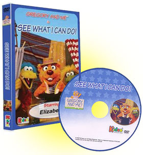 Gregory and Me - See What I Can Do Personalized Children's Photo DVD